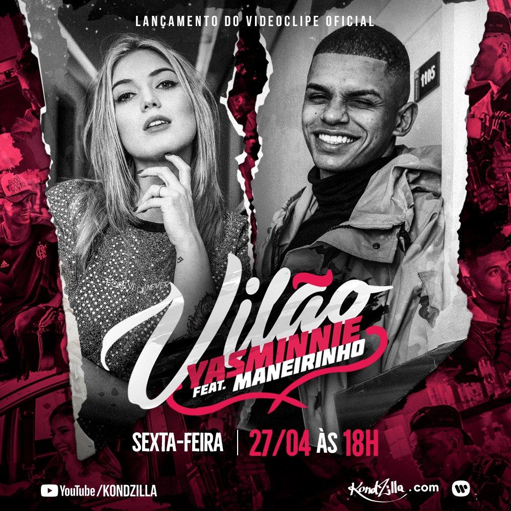 Baixar Vilão - Yasminnie feat MC Maneirinho Mp3