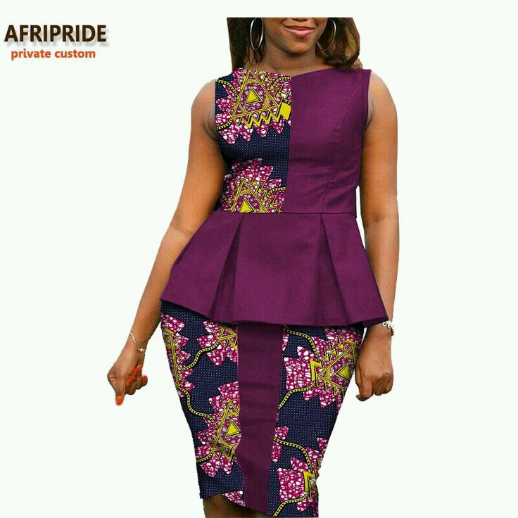 Latest Pictures Of Short And Long Ankara Peplum Dresses 2017 Download Latest Ankara Styles