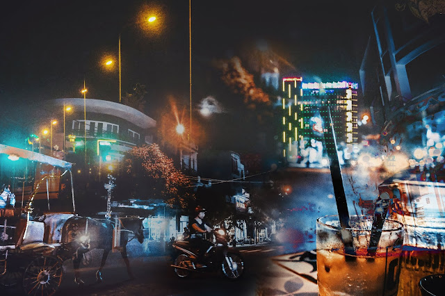Một tách cà phê trên đường phố, những gì bạn sẽ thấy vào ban đêm