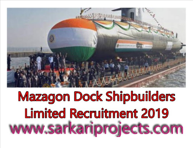 Mazagon-Dock-Shipbuilders-Limited-Recruitment-2019