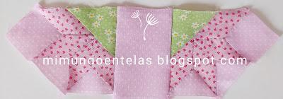 Patchwork tutorial: Flor de Lis