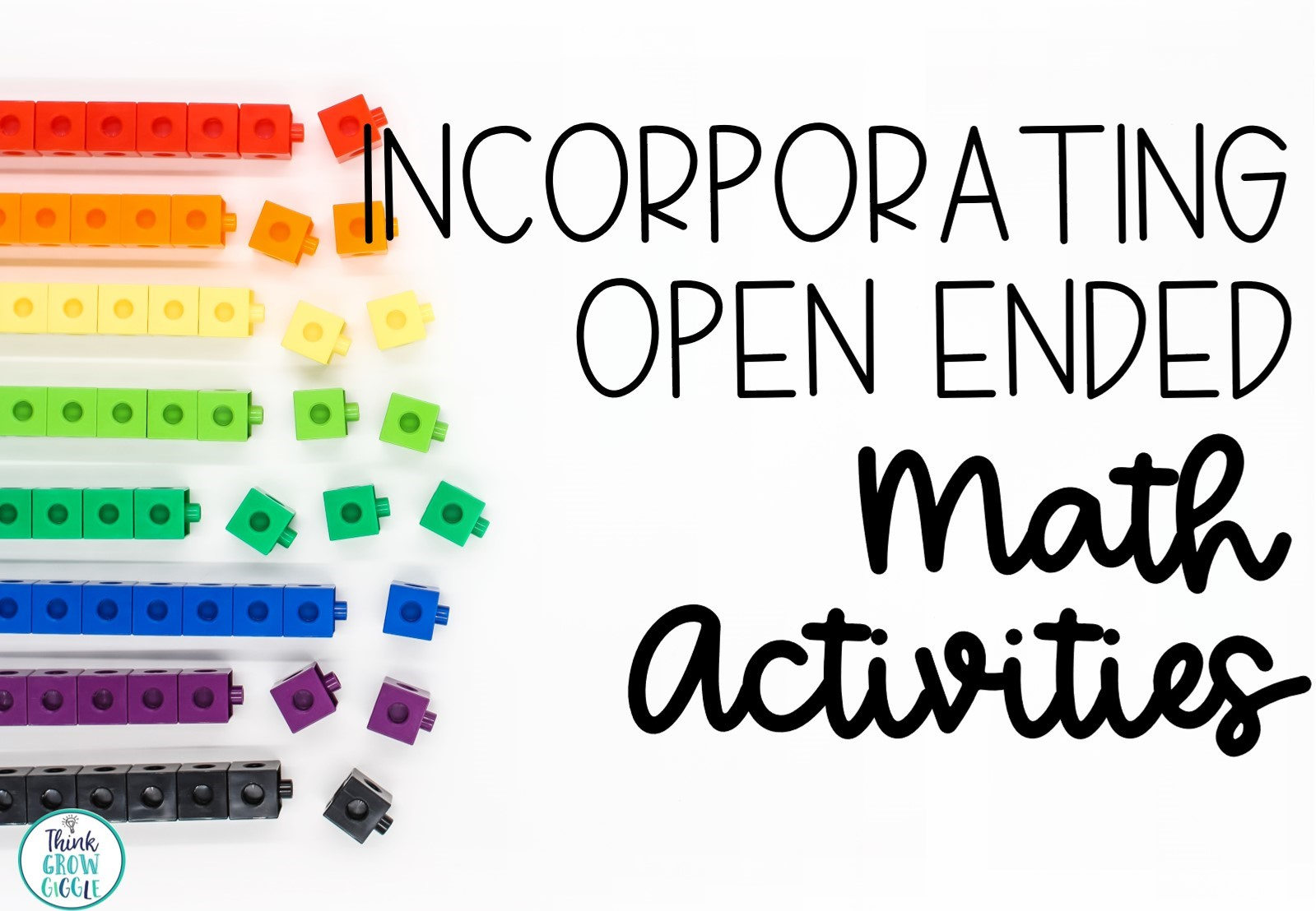 How To Incorporate Open Ended Math Problems