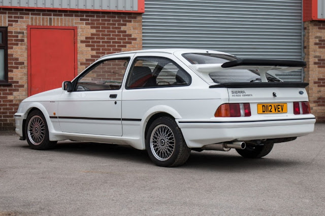 Ford Sierra Cosworth 1980s European sports car