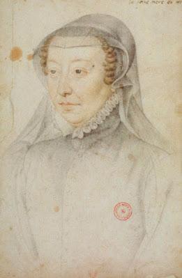 Catherine de'Medici by Francois Clouet