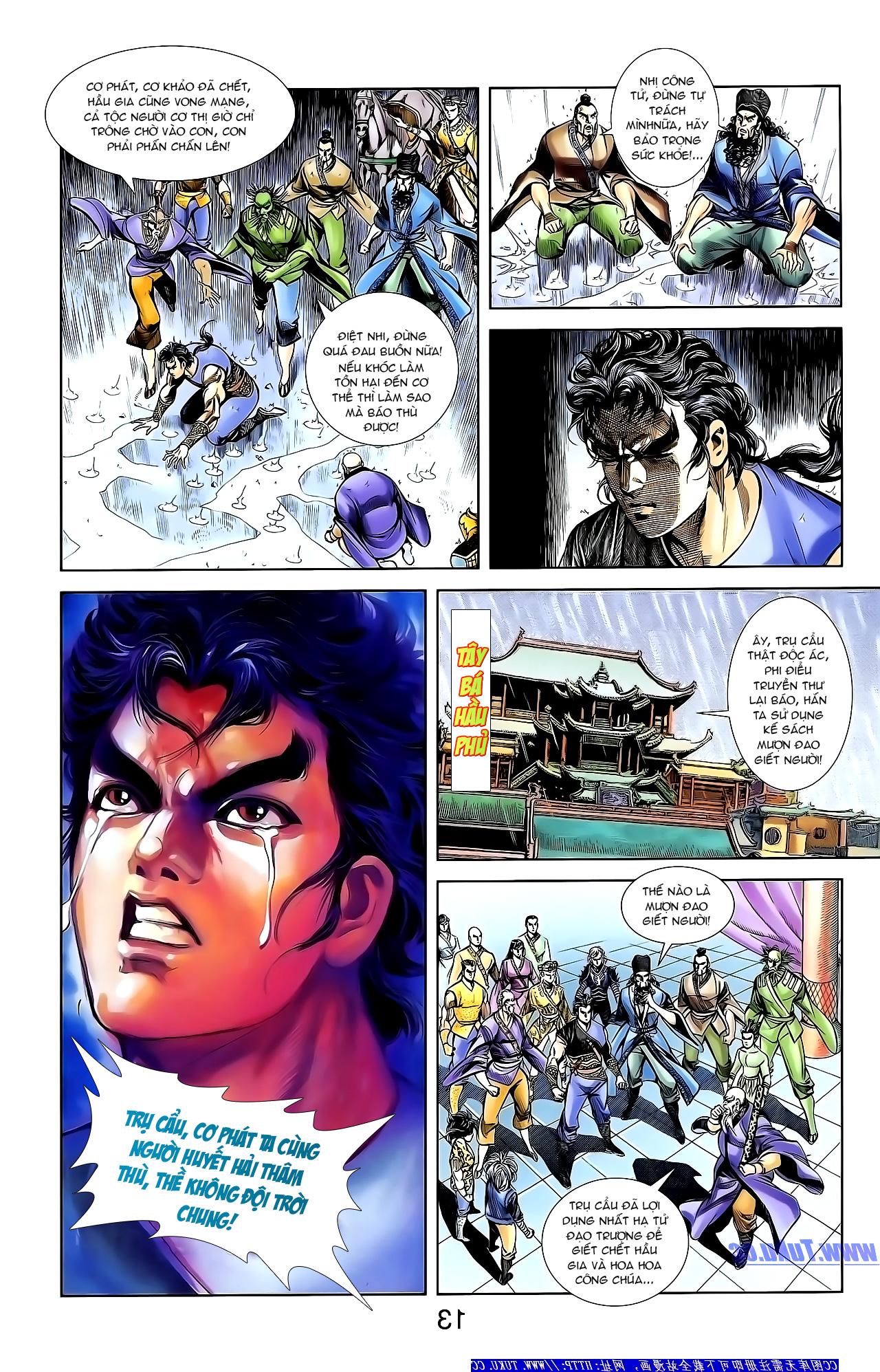 Cơ Phát Khai Chu Bản chapter 152 trang 24