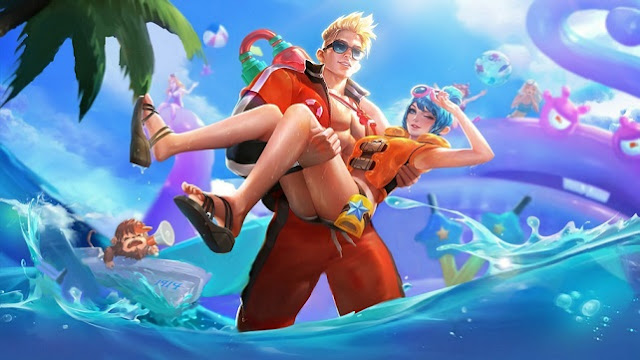 Claude & Fanny Summer Special Skin - Lifeguard Mobile Legends