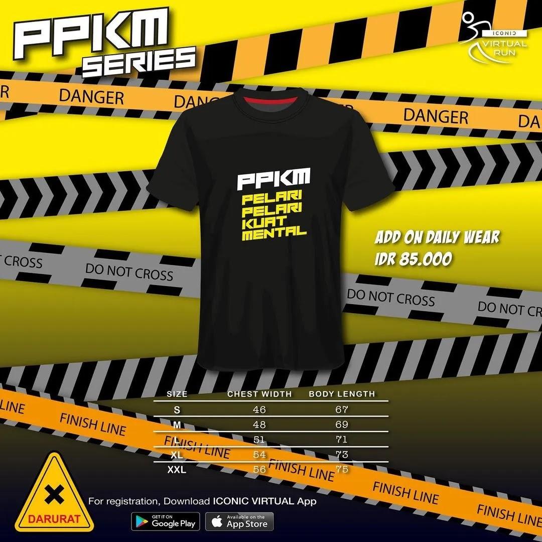 Iconic Virtual Run - PPKM Series • 2021