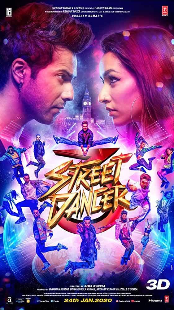 Street Dancer 3D 2020 X264 720P HD Esub Hindi GOPI SAHI