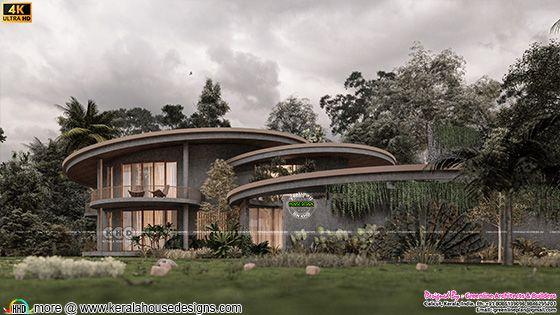 Round Front House Design