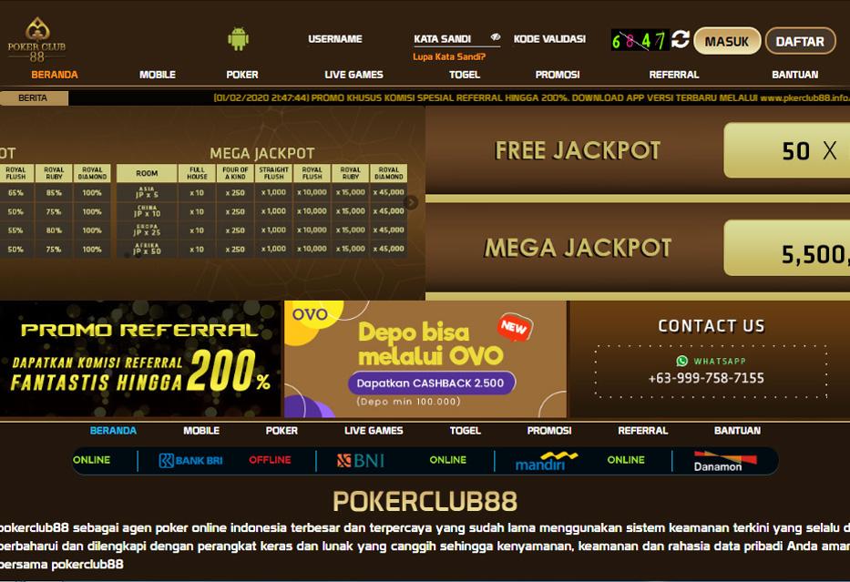 Pro id Poker PKV | Poker Club88 | Pro.ID PKV