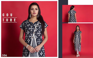 NITARA 501 SERIES KURTIS KURTA TOPS WHOLESALER LOWEST PRICE SURAT GUJARAT