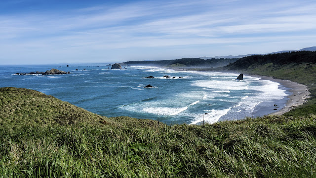 View of Cape Blanco, OR
