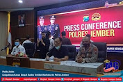 Polda Jatim Limpahkan Kasus Empat Kades Terlibat Narkoba ke Polres Jember