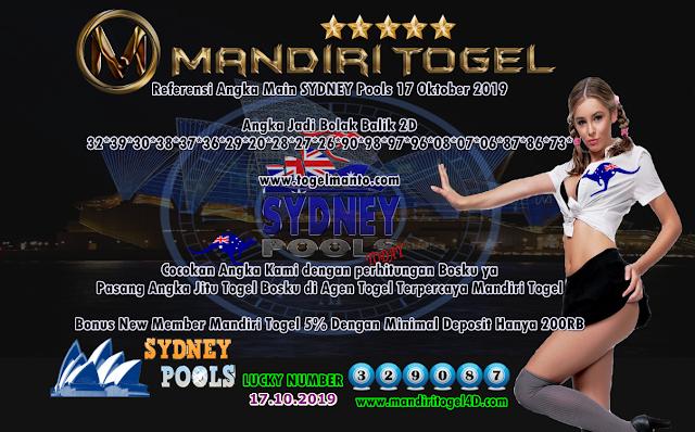 Prediksi Lucky Number Togel Sydney Mandiri Togel 17 Oktober 2019