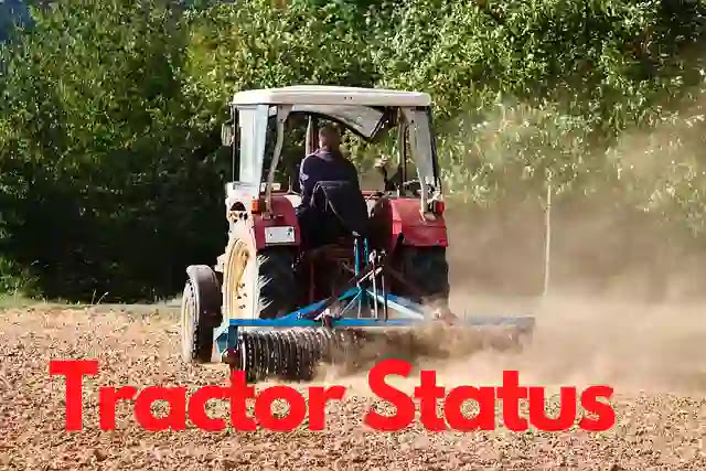 Tractor status in Hindi & Punjabi