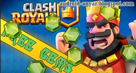 100% Work! Cara Mendapatkan GEMS Clash Royale Gratis terbaru tanpa cheat aman resmi kupon 1200 Bucket of Gems