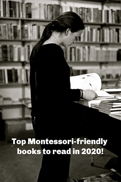 Top Montessori-friendly books to read in 2020! (Photo by pedrosimoes7 on Trend Hype / CC BY)