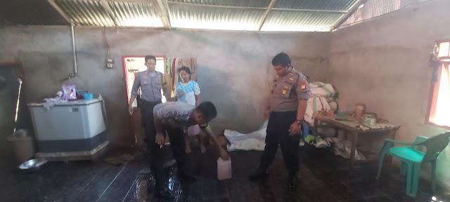 Operasi Miras Jelang Nataru, Polisi Amankan Puluhan Liter Ballo Dari Rumah Warga