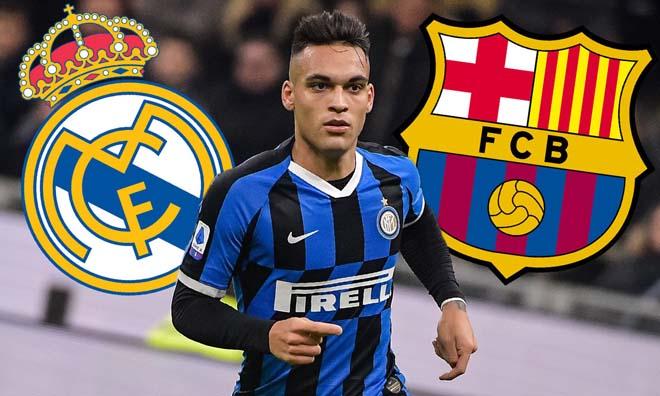 """""""Bom tấn"""" Lautaro Martinez khó đến Barca, Real gây sốc cho đại kình địch?"""