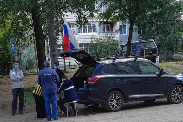 Город Иванова – УИК в багажнике автомобиля