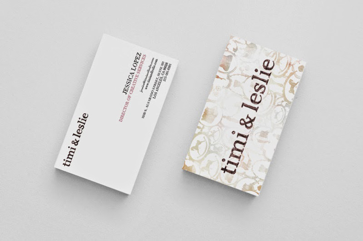 Nice Artwork from Jessica Lopez - business cards
