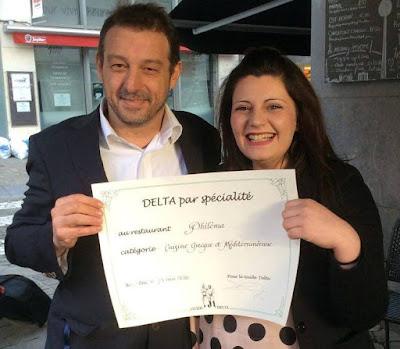 Ένας Κρητικός και μία Ηγουμενιτσιώτισσα δημιουργούν στις Βρυξέλλες και πήραν Χρυσό Σκούφο