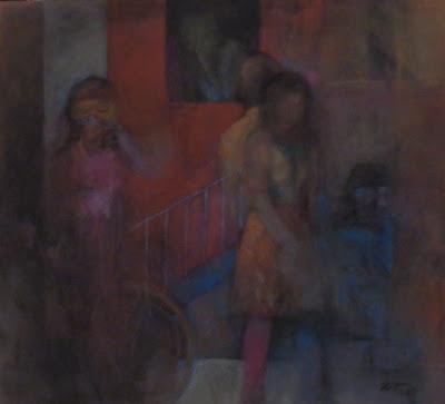 Exposição pintura - Loop de José Luís Tinoco no Pavilhão Preto do Museu de Lisboa