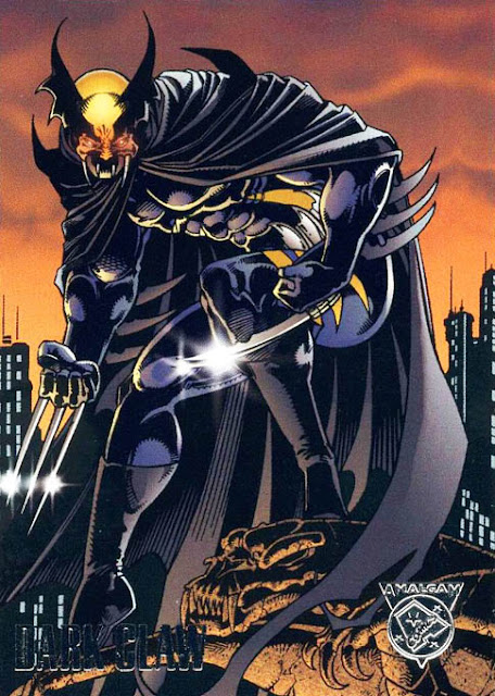 Amalgam Comics Dark Claw Marvel contro DC