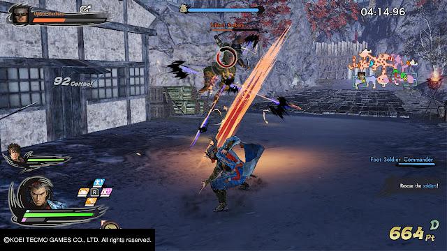 Hanzo Hatori Citadel Mode Samurai Warrior 5 Nitendo Switch