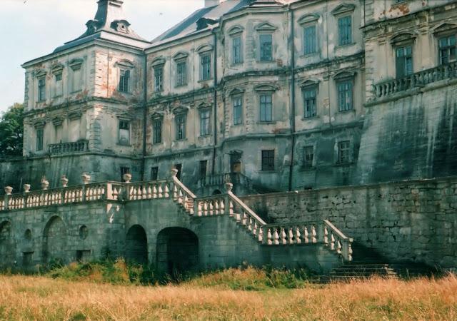 Замки Львовской области - Подгорцы