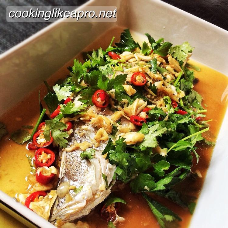 Asian sea bass recipe