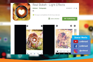 Aplikasi Video Bokeh