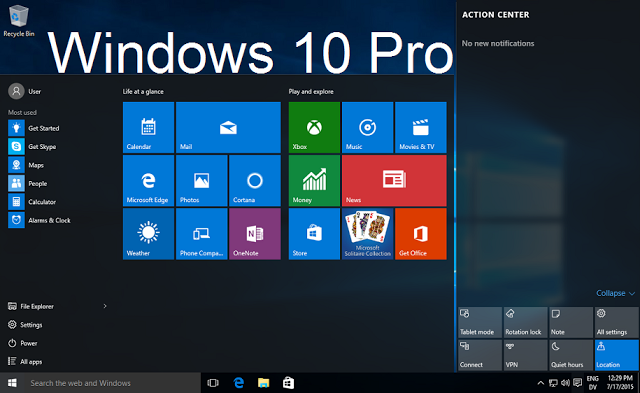 windows 10 professional oem download iso