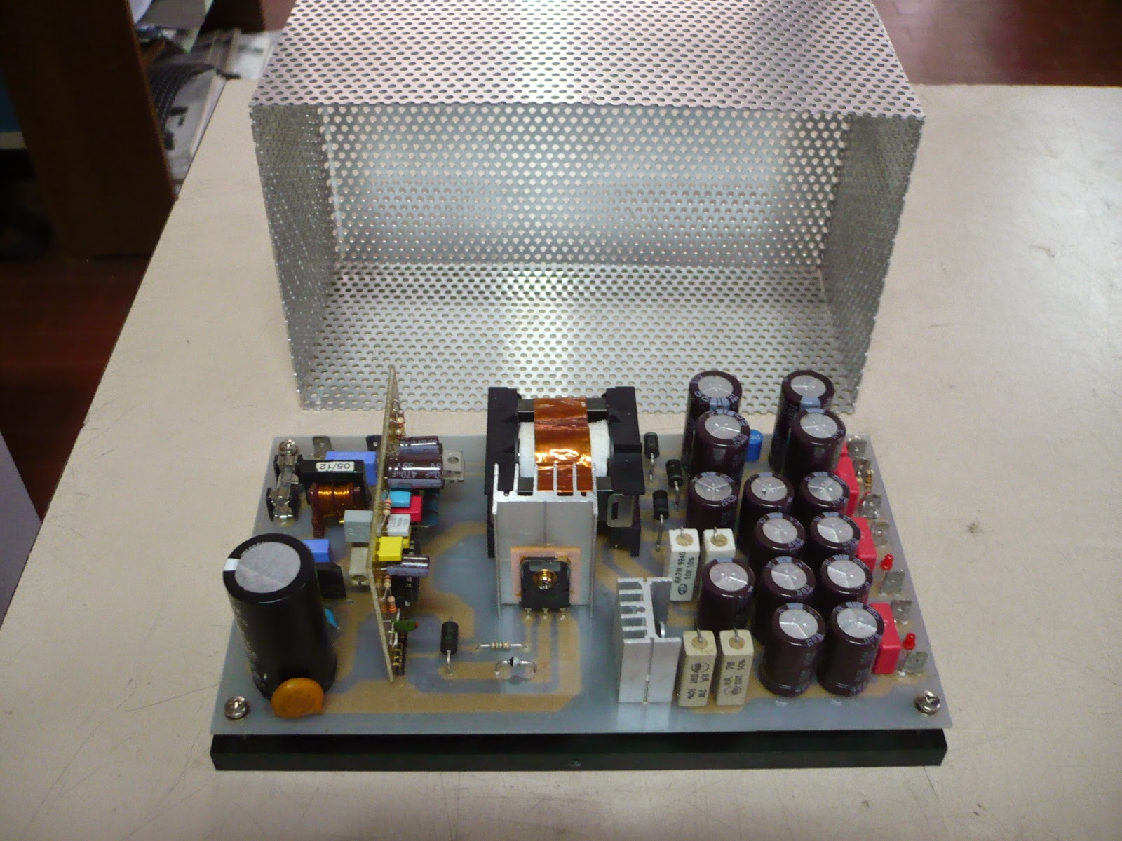Doityourselfaudio 100 Diy Smps By Sergio Switching Mode Electronic Power Supply Which Is Switched Based