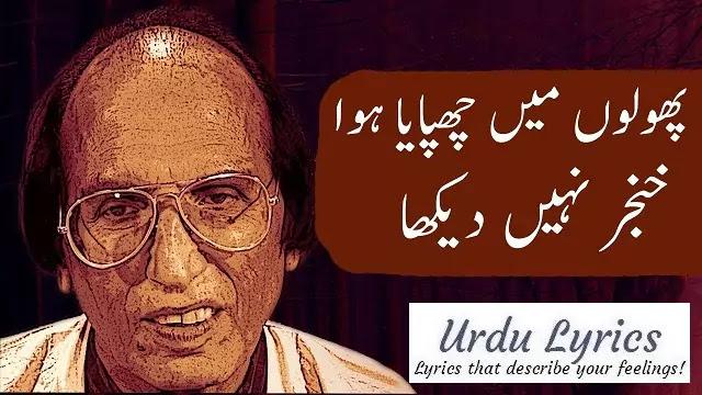 Aankhon Mein Raha Dil Mein Utar Kar Nahin Dekha - Bashir Badar - Sad Urdu Poetry