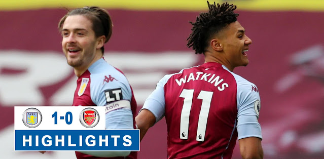 Aston Villa vs Arsenal Highlights