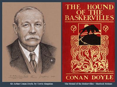 Sir Arthur Conan Doyle. Sherlock Holmes. The Hound of the Baskervilles. by Travis Simpkins