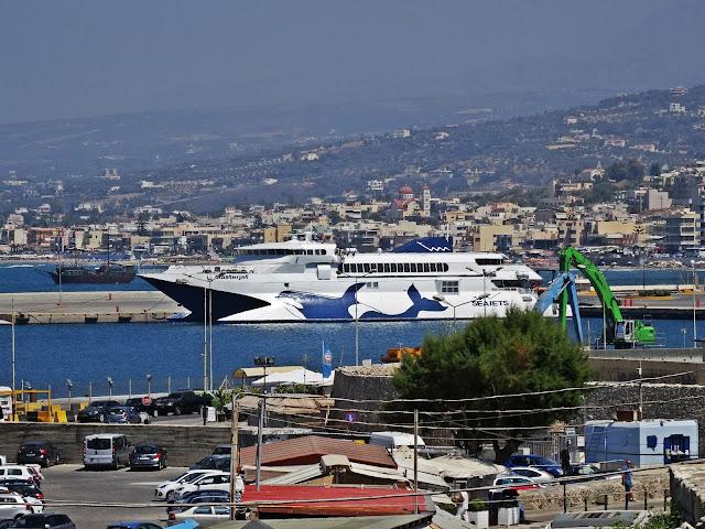 wodolot Rethymno port morski