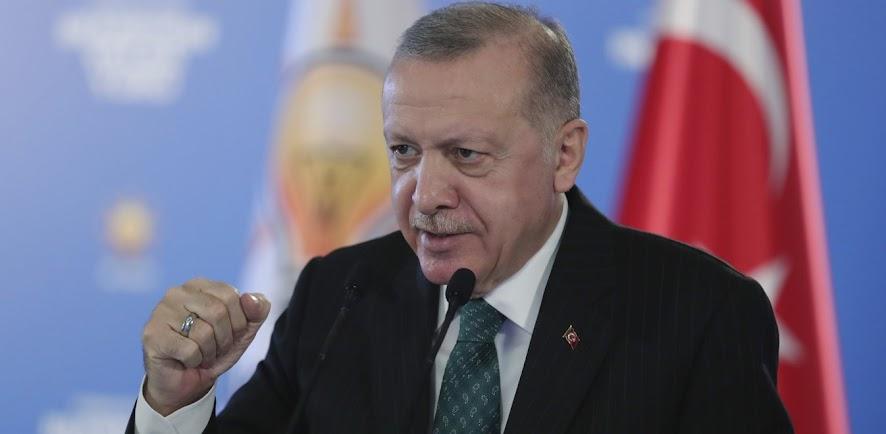 Ο Ερντογάν εξυμνεί ξανά τα έργα που κάνει για την Τουρκία
