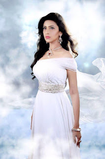 Bidya Sinha Saha Mim Stills Hot In White Dress