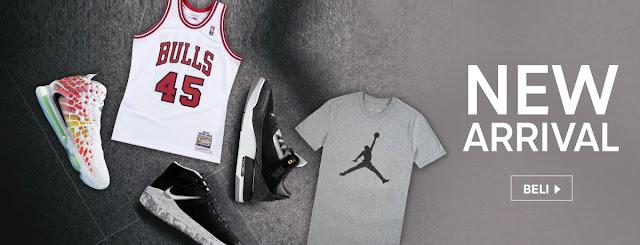 Cari Produk Brand NBA Original Hanya di Blibli