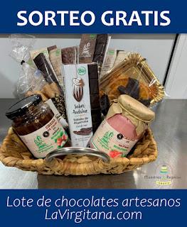 Ganador/a del sorteo con Chocolates La Virgitana