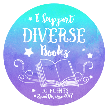 I Support Diverse Books 10 points badge