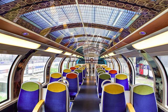 Beginilah Seni Dekorasi Kereta di Perancis, Amazing!