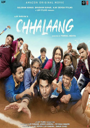 Chhalaang 2020 Hindi HDRip 720p