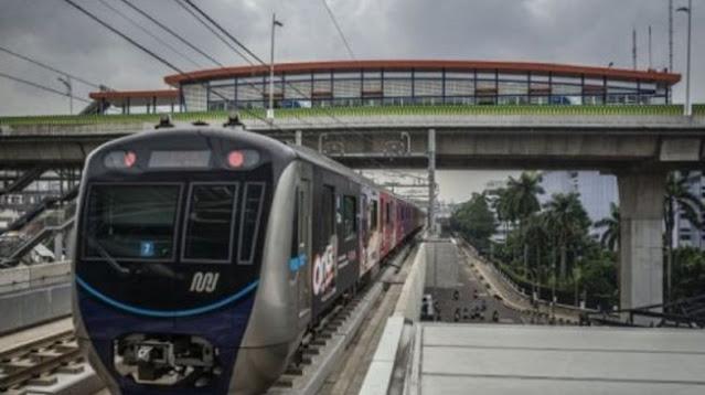 Terungkap! Ini Penyebab Kereta MRT Jakarta Mendadak Mogok di Lintasan Layang