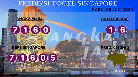 Prediksi Togel Angka Jadi Singapura Rabu 08 Juli 2020