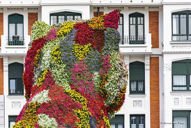 Puppy, por Jeff Koons - Bilbao, por El Guisante Verde Project