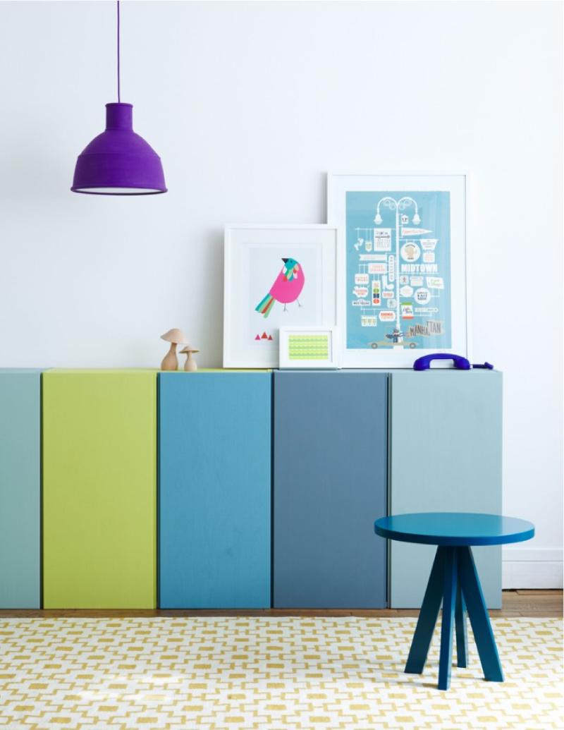 Conosciuto Restyling colorato per il mobile IVAR di IKEA | Blog di  ZC31