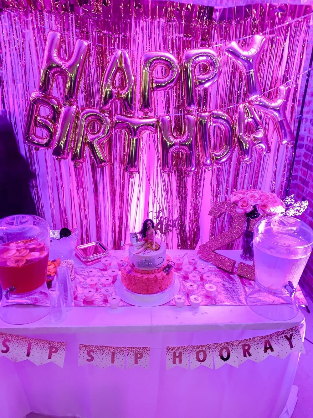 decoração festa euphoria